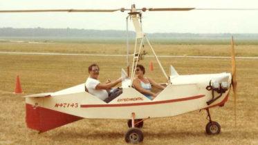 Jim Eich Michelle Solvej JE2 gyrocopter flight