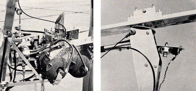 Mayfly gyrocopter McCulloch powerplant