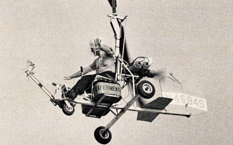 Monroe B 8M gyrocopter