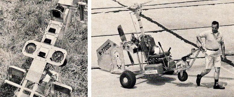 Tweetie Bird 72hp McCulloch B 8M gyrocopter