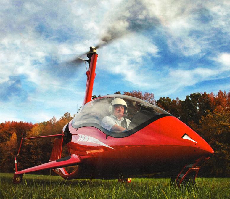 dietmar fuchs arrowcopter gyrocopter design