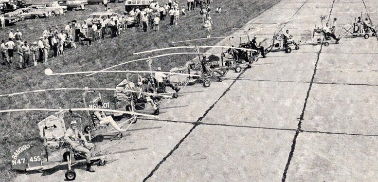 gyrocopter gyroglider lineup