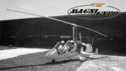 magni gyrocopter tandem flying