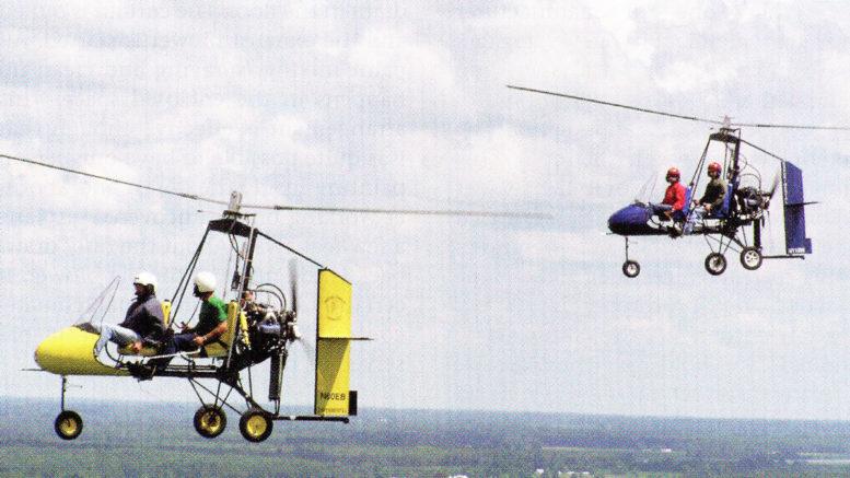 The Rotor Flight Dynamics Dominator Gyrocopter