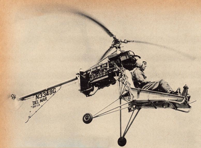 Whirlymite helicopter 60hp Mercury