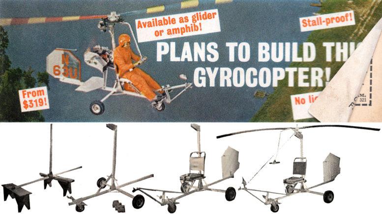 bensen gyrocopter plans review