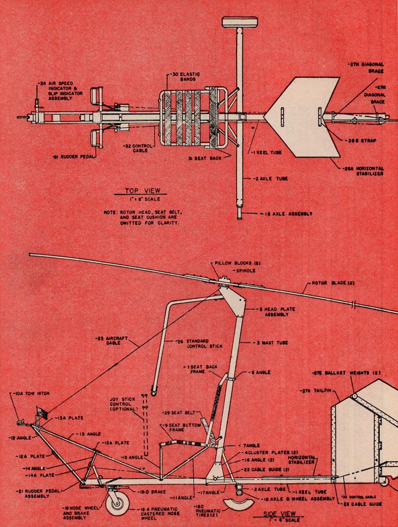 bensen gyrocopter plans set two