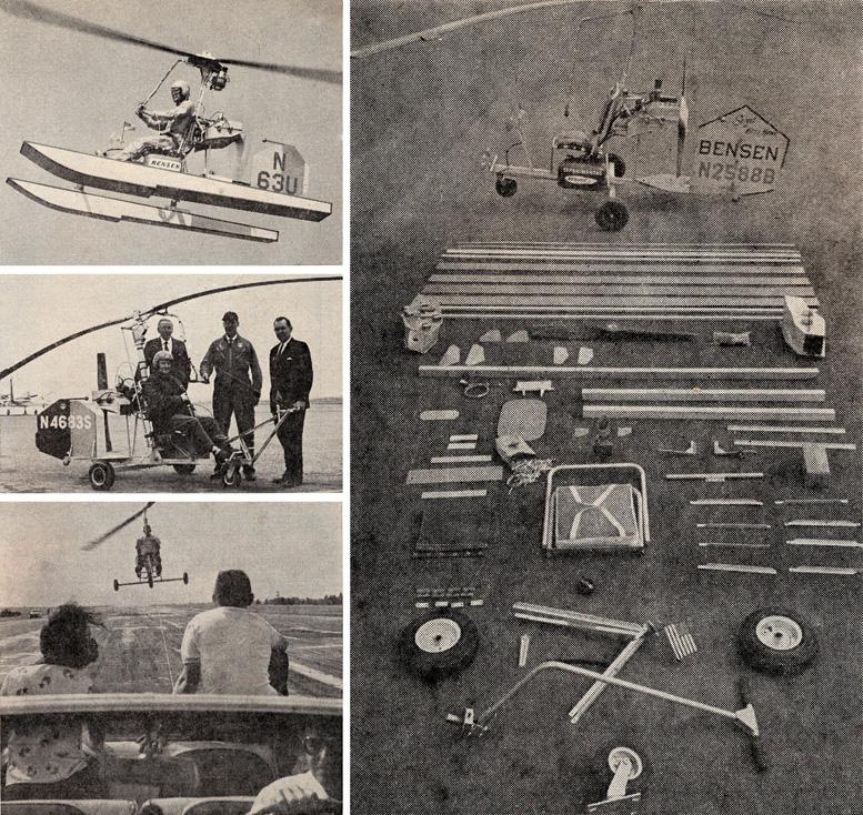 building a bensen gyrocopter