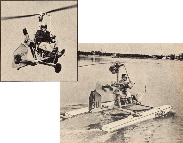 land and sea gyrocopters
