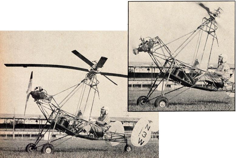 tilt rotor autogyro 72hp McCulloch