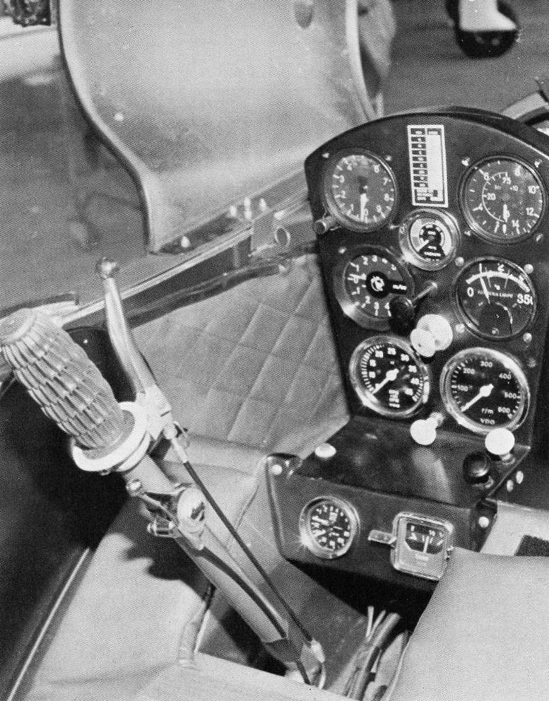 JT-5 gyrocopter cockpit