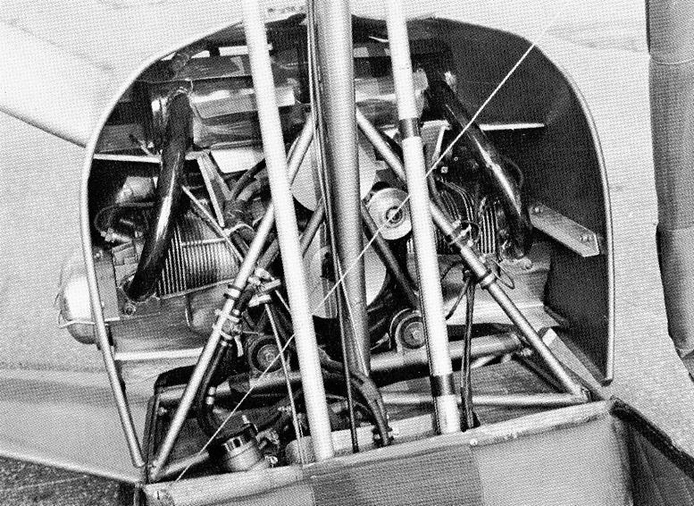 JT-5 gyrocopter engine