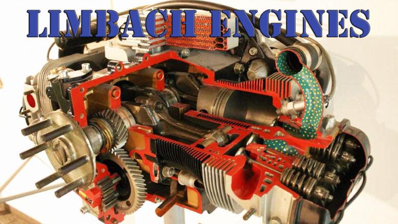 Limbach aircraft engine cutaway