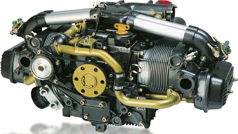 Limbach aircraft four stroke engine