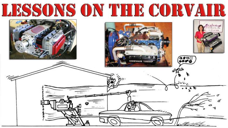 corvair aircraft engine design ideas