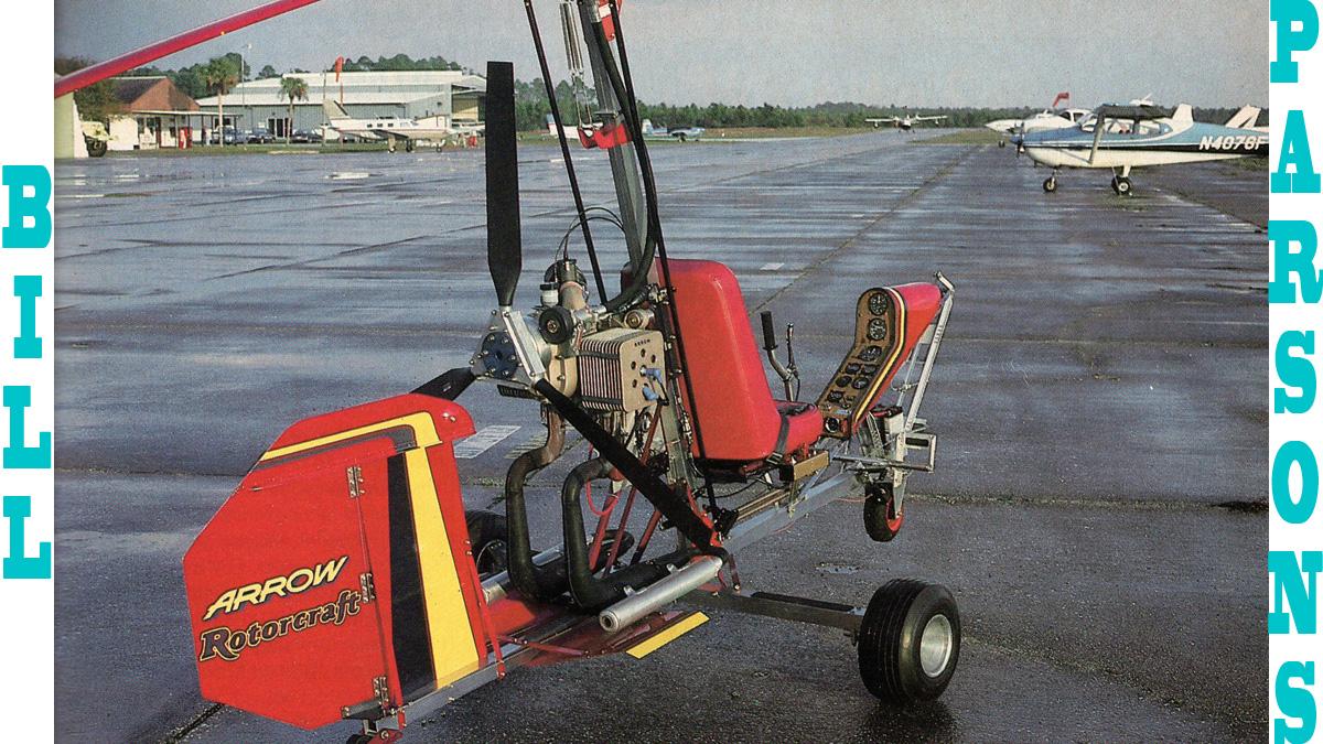 Bill Parsons Gyrocopter Guru