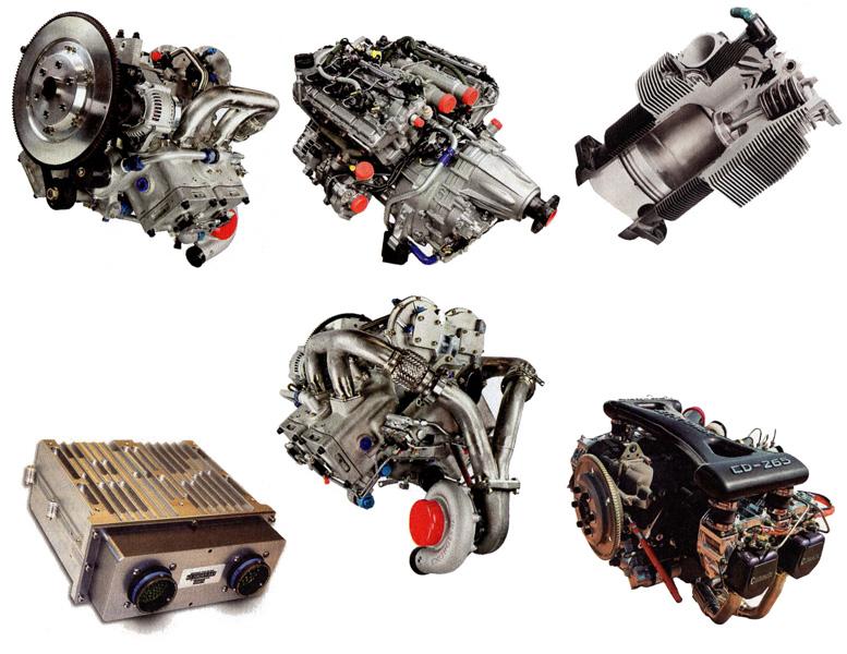 flying diesel engines