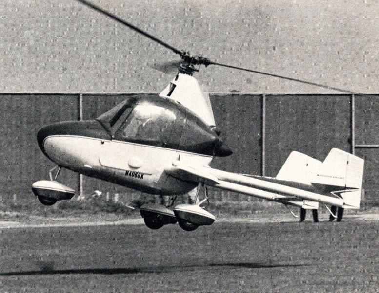 J2 gyroplane landing