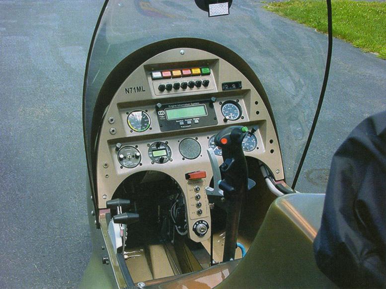 custom gyrocopter panel