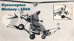 gyrocopter history 1969