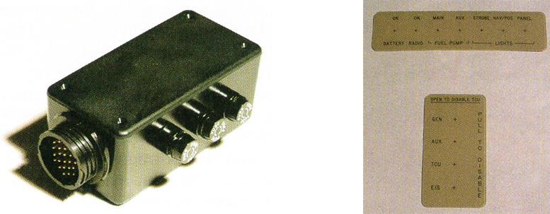 gyroplane control panel parts