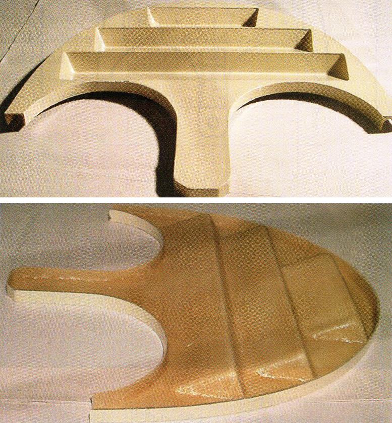 magni gyro control panel molds