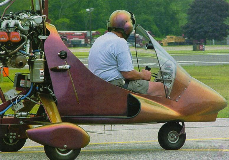 manfred leuthard magni gyrocopter builder