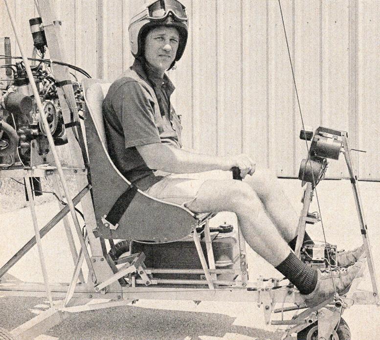 garry cotter gyrocopter pilot