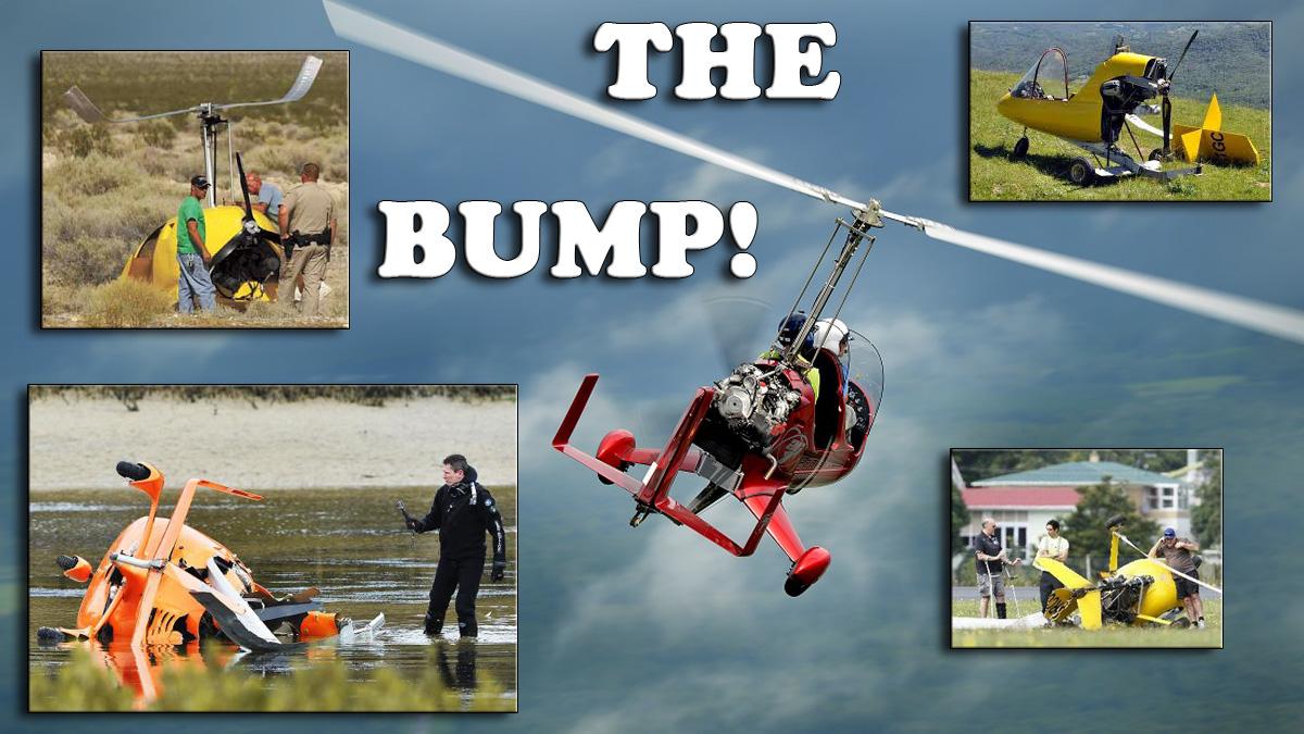 New GyroBump warning device for autogyro pilots
