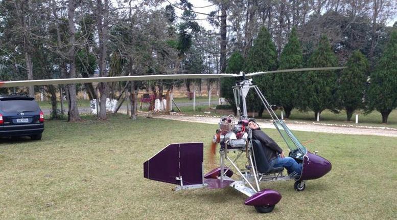 gyrocopter rotorblade run up