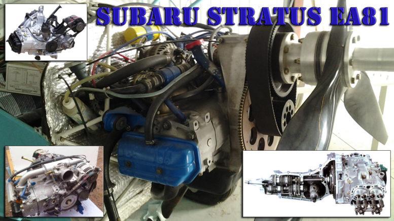 Build Your Own Subaru >> Stratus EA81 Aircraft Engine - Build A Gyrocopter