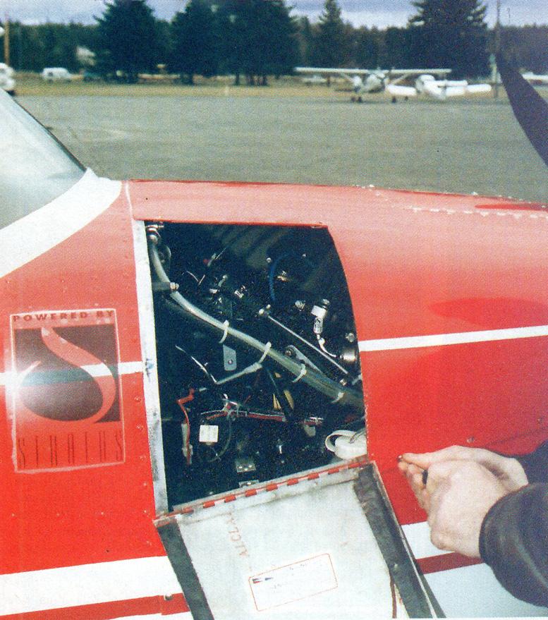 subaru 1800 plane install
