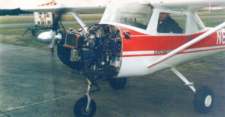 subaru aircraft engine