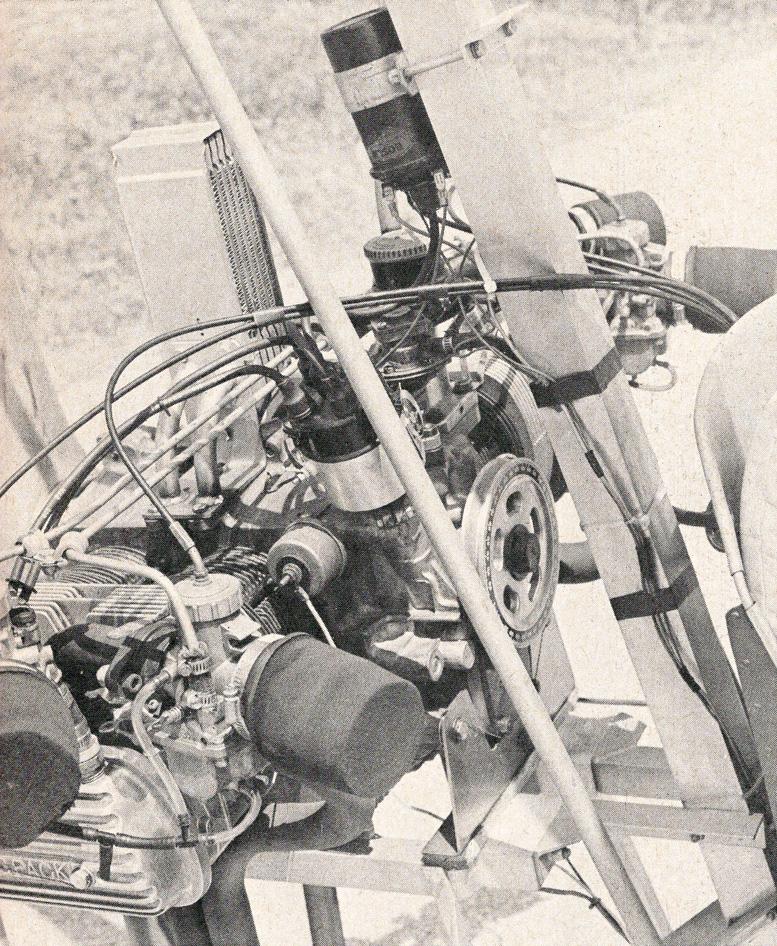 volkswagen gyrocopter engine