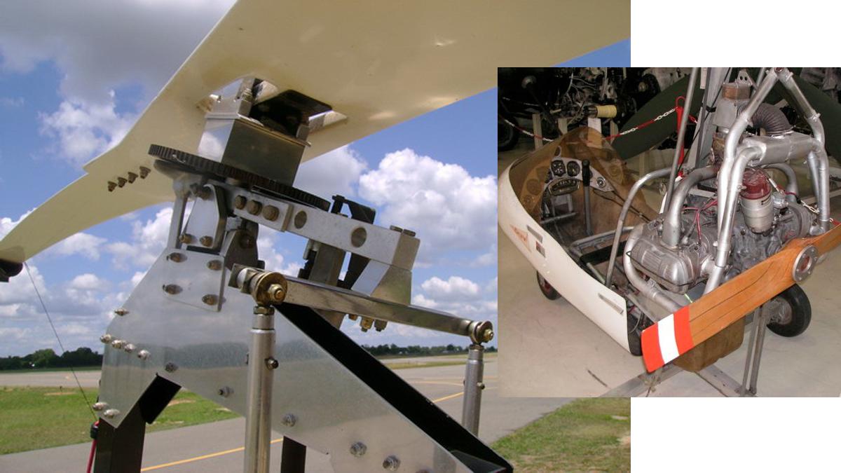 Robbie R22 -  Robbie R44 - Gyrocopter