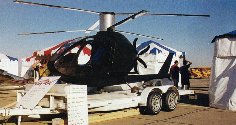 VTOL gyrocopter