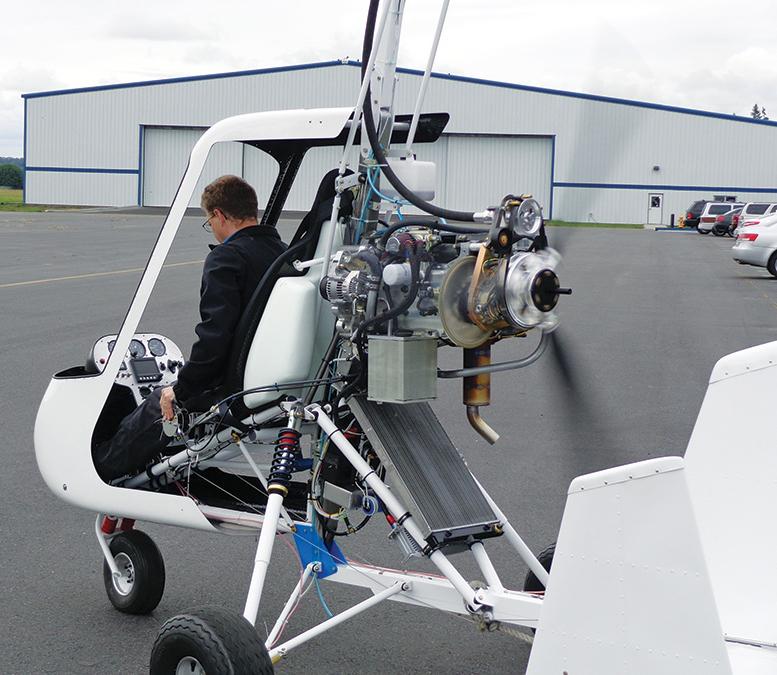 Vortex Gyrocopter factory