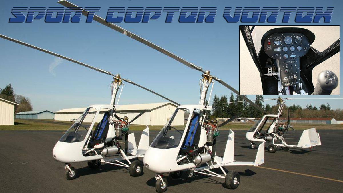 Sport Copter Vortex Gyroplane