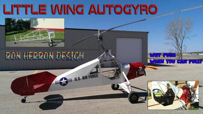 little wing autogyro ron herron gyrocopter