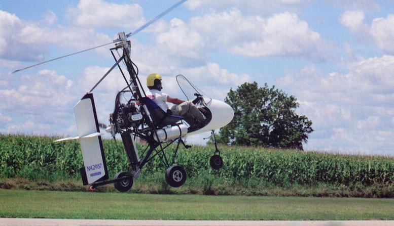 diy gyrocopter