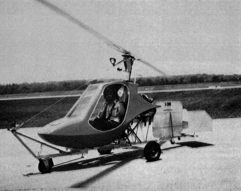 gyrocopter helicopter design