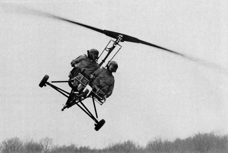 gyrocopter instructor flights