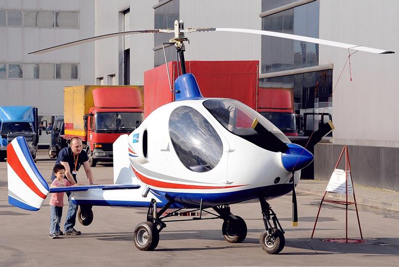 russian smart flier gyrocopter