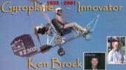 Kenneth Eugene Brock Gyroplane