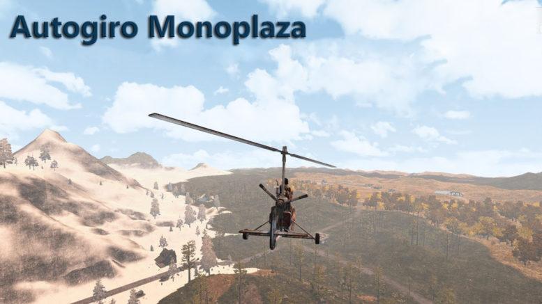 Autogiro Monoplaza