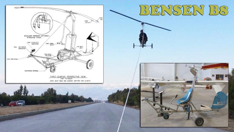 bensen b8 gyro-glider plans