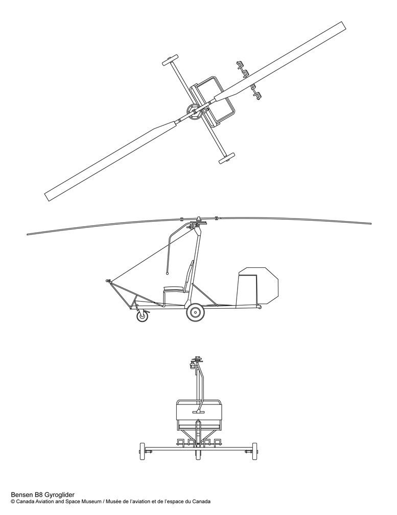 Bensen B8 Gyroglider Plans